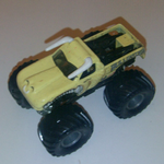 Hot Wheels Bulldozer Big Wheels Monster Truck Die-cast Model@SOLD@